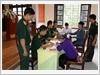 Ban Chỉ huy Quân sự huyện Quốc Oai, Bộ Tư lệnh Thủ đô Hà Nội chi trả trợ cấp cho các đối tượng chính sách