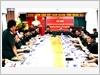 Thượng tá, Phan Tùng Sơn - Phó Trưởng ban Đại diện phía Nam  Báo Quân đội nhân dân phát biểu ý kiến tại Hội nghị