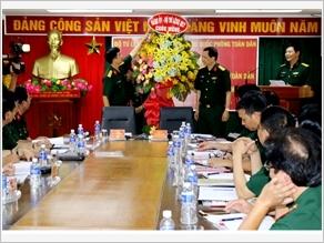 Hoạt động phối hợp giữa Tạp chí Quốc phòng toàn dân với các cơ quan, đơn vị trên địa bàn Quân khu 7