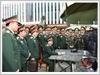 Đại tướng Ngô Xuân Lịch, Bộ trưởng Bộ Quốc phòng thăm và kiểm tra  Lữ đoàn 596 (tháng 02-2017)