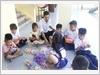 Giờ chơi các cháu học sinh trên đảo Song Tử Tây