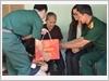 Thăm và tặng quà Mẹ Việt Nam anh hùng Nguyễn Thị Cảnh, xã Phước Hiệp, huyện Củ Chi