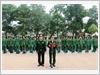 Đọc 10 Lời thề danh dự của quân nhân.