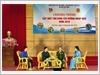 Đoàn Thanh niên Cộng sản Hồ Chí Minh - Ban Chỉ huy Quân sự huyện Sóc Sơn gặp mặt tân binh lên đường nhập ngũ năm 2019.