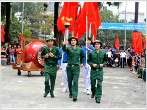 Ngày hội tòng quân của tuổi trẻ Thủ đô