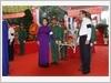 Chủ tịch Quốc hội Nguyễn Thị Kim Ngân dự Lễ truy điệu và an táng hài cốt các liệt sĩ tại Nghĩa trang liệt sĩ Đồi 82 (huyện Tân Biên, tỉnh Tây Ninh)