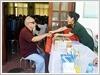 Bệnh viện Quân y 105 khám bệnh, cấp thuốc miễn phí và tặng quà đối tượng chính sách tại xã Trần Phú, huyện Chương Mỹ, thành phố Hà Nội