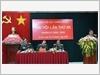 Trung tướng Lê Hiền Vân, Phó Chủ nhiệm Tổng cục Chính trị,  Bí thư Đảng ủy Cơ quan Tổng cục Chính trị phát biểu chỉ đạo Đại hội