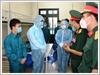 Phó Chủ tịch nước Đặng Thị Ngọc Thịnh kiểm tra, động viên các lực lượng làm nhiệm vụ