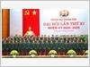 Đoàn đại biểu Đảng bộ Quân đội dự Đại hội đại biểu toàn quốc lần thứ XIII của Đảng ra mắt Đại hội