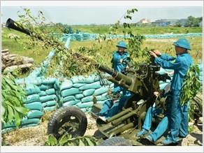 Lực lượng vũ trang Nam Định thực hiện tốt công tác quốc phòng, quân sự địa phương