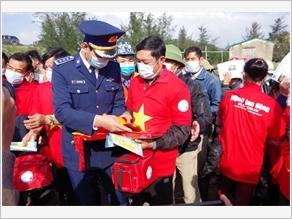"""Đoàn Đặc nhiệm phòng, chống ma túy số 2 thực hiện công tác dân vận """"cảnh sát biển với đồng bào dân tộc, tôn giáo"""""""