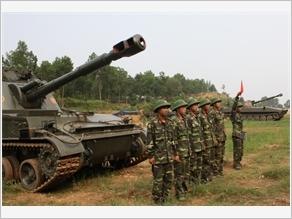 """Công tác huấn luyện ở Đơn vị Pháo binh được Bác Hồ đặt tên """"Tất thắng"""""""